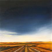 Impressionism art,Landscape art,Western art,Travel art,Representational art,Vintage art,oil painting,Vanishing Point II