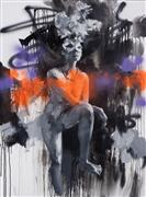 Expressionism art,Nudes art,Fashion art,Street Art art,Representational art,oil painting,Privacy No. 2
