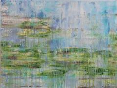 Abstract art,Nature art,Non-representational art,acrylic painting,Grazing Land