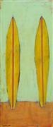 Sports art,Representational art,Primitive art,acrylic painting,Longboards