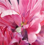 Flora art,Representational art,watercolor painting,Peony