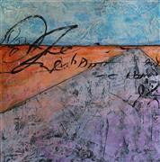 Abstract art,Landscape art,Non-representational art,Vintage art,acrylic painting,Flatlander Boogie
