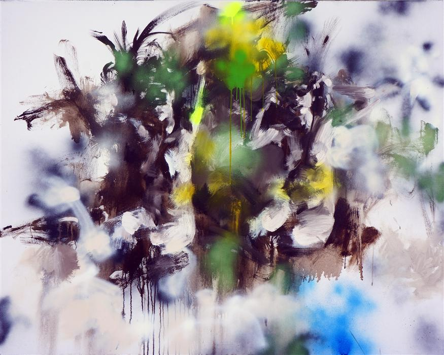 Original art for sale at UGallery.com | Privacy No. 4 by XIWEN CHEN | $6,200 | Oil painting | 48' h x 60' w | http://www.ugallery.com/oil-painting-privacy-no-4
