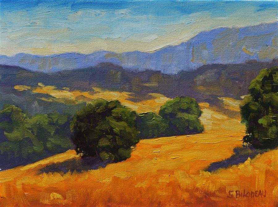 Original art for sale at UGallery.com | Sonoma Wonders by STEVEN GUY BILODEAU | $350 | Oil painting | 9' h x 12' w | http://www.ugallery.com/oil-painting-sonoma-wonders