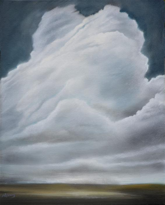 Original art for sale at UGallery.com | I Still See Giants by KELLY MONEY | $425 | Oil painting | 20' h x 16' w | http://www.ugallery.com/oil-painting-i-still-see-giants