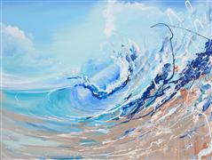 Discover Original Art by Piero Manrique | Breaking Wave acrylic painting | Art for Sale Online at UGallery