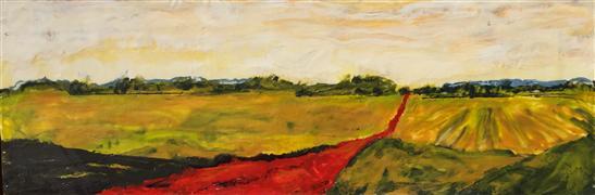 Discover Original Art by Mandy Main | Wine Country Encaustic encaustic artwork | Art for Sale Online at UGallery