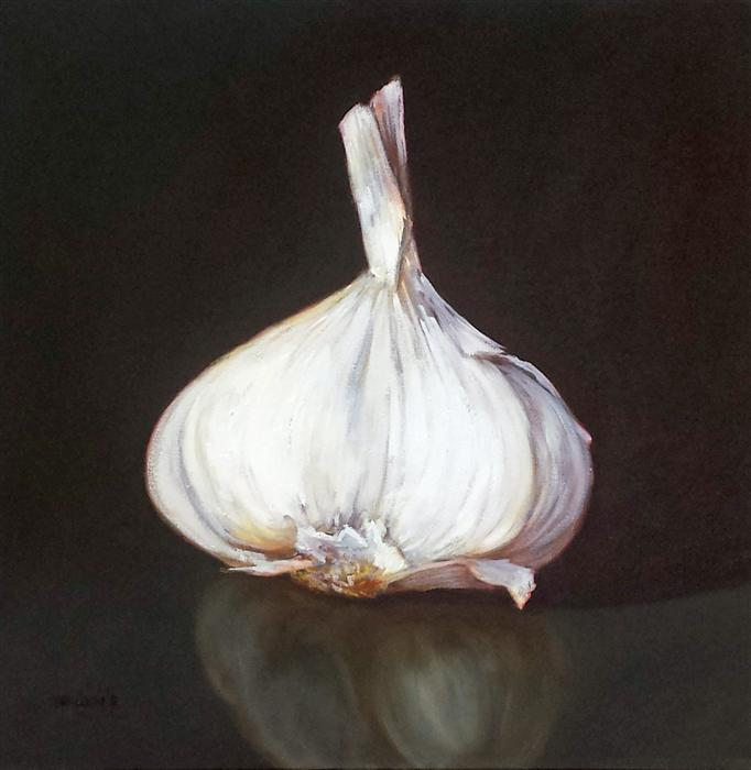 Discover Original Art by Tami Cardnella | Garlic oil painting | Art for Sale Online at UGallery
