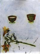 Still Life art,Flora art,Representational art,printmaking,Turning (#3)
