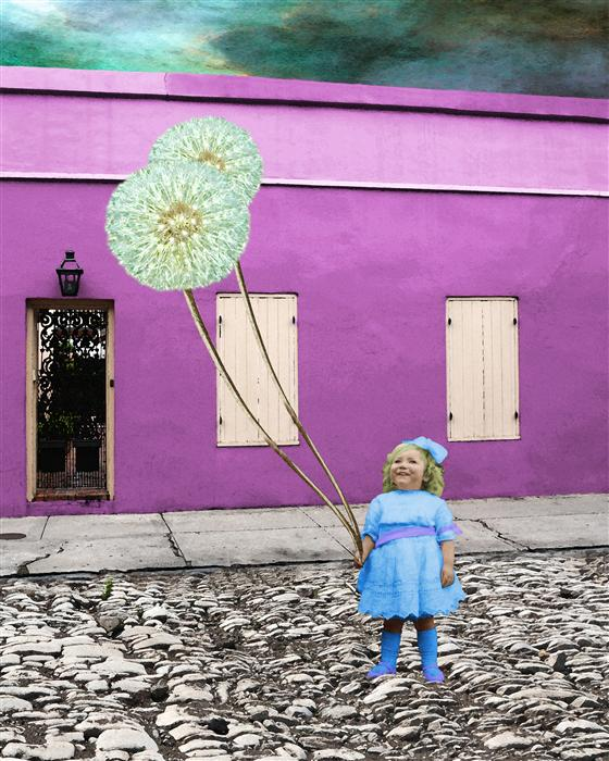 Original art for sale at UGallery.com | Dandelions of the French Quarter by LOVEDAY FUNCK | $220 |  | ' h x ' w | http://www.ugallery.com/photography-dandelions-of-the-french-quarter