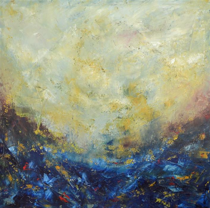 Discover Original Art by Chelsea Tikotsky | The Perfect Storm oil painting | Art for Sale Online at UGallery