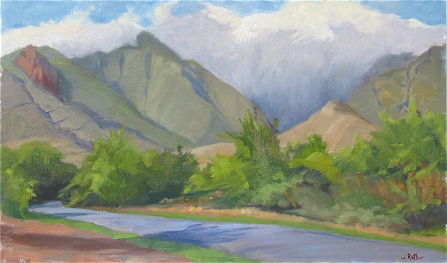 Discover Original Art by Jamie Roth | Sacred Lands oil painting | Art for Sale Online at UGallery
