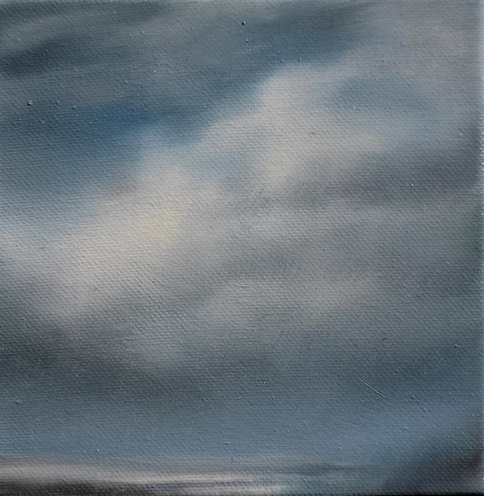 Original art for sale at UGallery.com | Cloud Study I by KELLY MONEY | $225 | Oil painting | 6' h x 6' w | http://www.ugallery.com/oil-painting-cloud-study-i