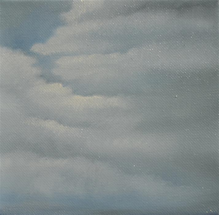 Original art for sale at UGallery.com | Cloud Study II by KELLY MONEY | $225 | Oil painting | 6' h x 6' w | http://www.ugallery.com/oil-painting-cloud-study-ii