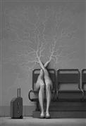 People art,Surrealism art,Travel art,Representational art,digital printmaking,Soft Machines 01