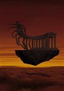 Fantasy art,Surrealism art,Representational art,digital printmaking,Mars
