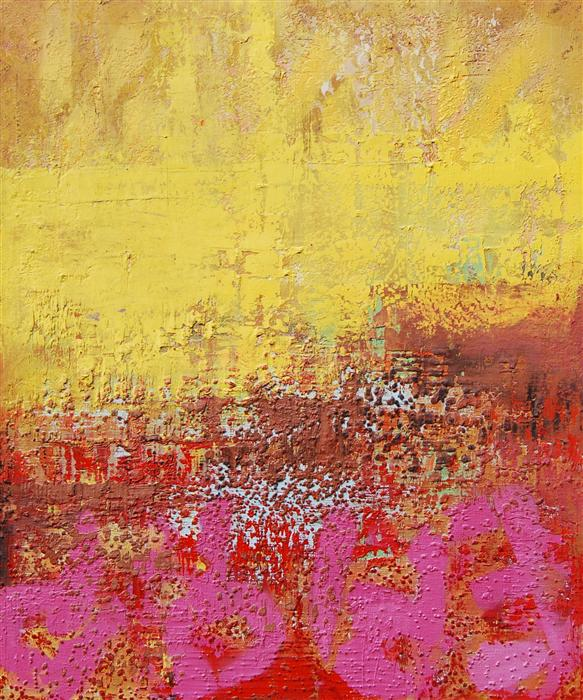 Discover Original Art by Janet Hamilton | Abstract Landscape H oil painting | Art for Sale Online at UGallery