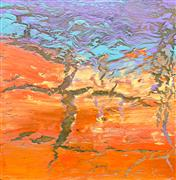 Abstract art,Non-representational art,acrylic painting,In the Quietest Moments II