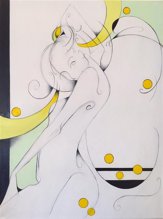Original art for sale at UGallery.com | Esmeralda by SUMNER CRENSHAW | $375 | Oil painting | 24' h x 18' w | http://www.ugallery.com/oil-painting-esmeralda