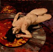 Expressionism art,Nudes art,Realism art,Representational art,oil painting,Julie