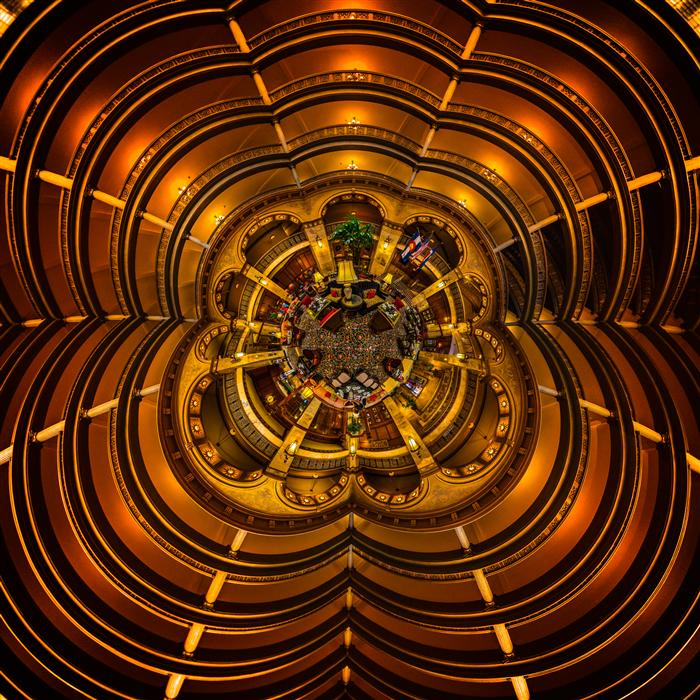 Original art for sale at UGallery.com | The Brown Palace by GERRAD HOLTZ | $185 |  | ' h x ' w | http://www.ugallery.com/photography-the-brown-palace