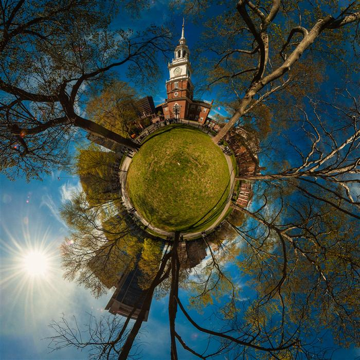 Original art for sale at UGallery.com | Independence Hall by GERRAD HOLTZ | $175 |  | ' h x ' w | http://www.ugallery.com/photography-independence-hall