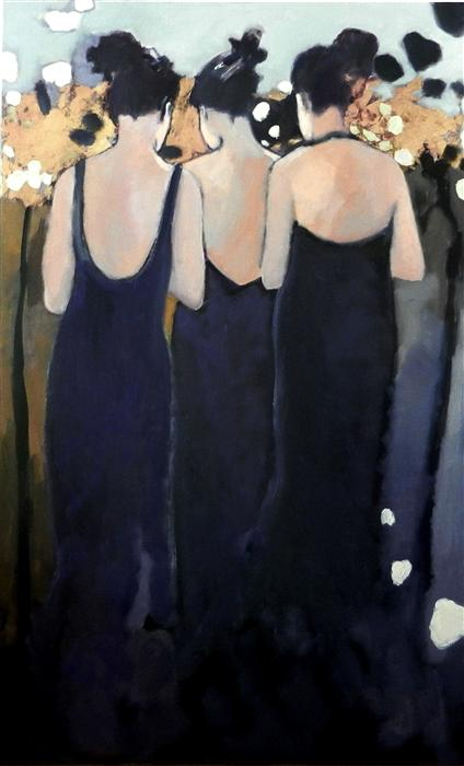 Discover Original Art by Mary Pratt | Mademoiselles oil painting | Art for Sale Online at UGallery
