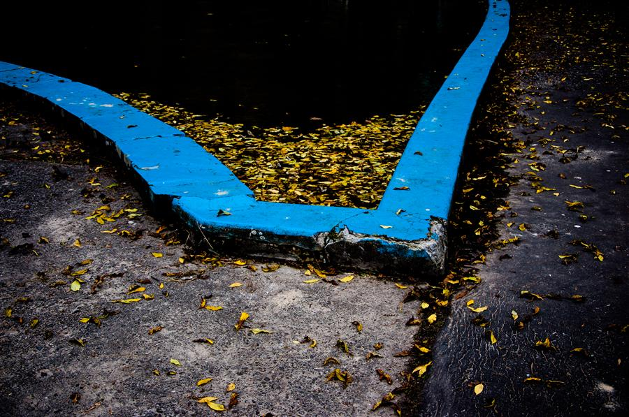 Original art for sale at UGallery.com | Old Pool by ALICJA BRODOWICZ | $275 |  | ' h x ' w | http://www.ugallery.com/photography-old-pool