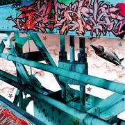 Architecture art,Surrealism art,Street Art art,Representational art,digital printmaking,MIG III