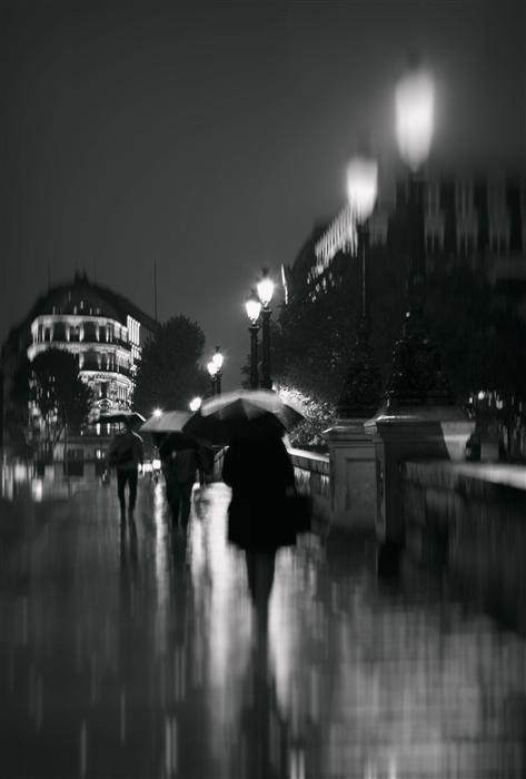 Original art for sale at UGallery.com | Paris in the Rain by CARINA OKULA | $150 |  | ' h x ' w | http://www.ugallery.com/photography-paris-in-the-rain