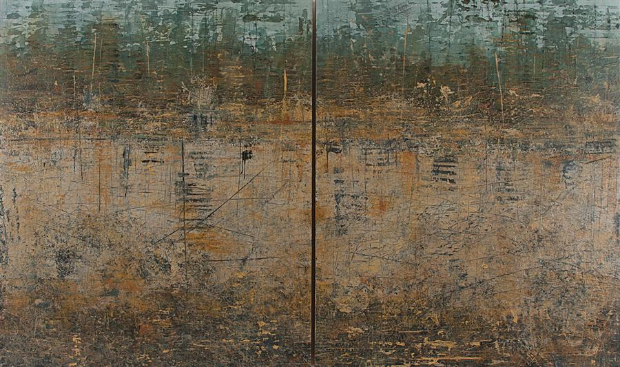 Original art for sale at UGallery.com | Tell Me What You See by PATRICIA OBLACK | $2,850 | Acrylic painting | 24' h x 40' w | http://www.ugallery.com/acrylic-painting-tell-me-what-you-see