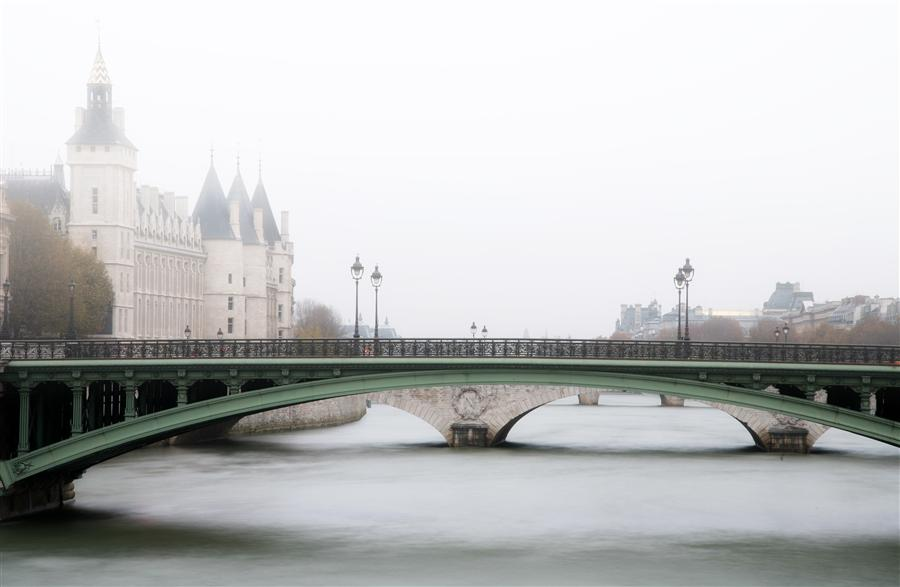 Original art for sale at UGallery.com | A Winter Morning in Paris by CARINA OKULA | $170 |  | ' h x ' w | http://www.ugallery.com/photography-a-winter-morning-in-paris