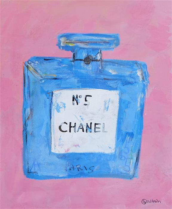 Original art for sale at UGallery.com | Chanel No. 5 by BRIAN NASH | $1,250 | Acrylic painting | 40' h x 30' w | http://www.ugallery.com/acrylic-painting-chanel-no-5