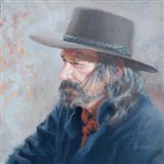 Impressionism art,People art,Western art,Representational art,oil painting,Worry