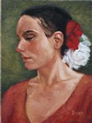 Impressionism art,People art,Western art,Representational art,oil painting,Rosita