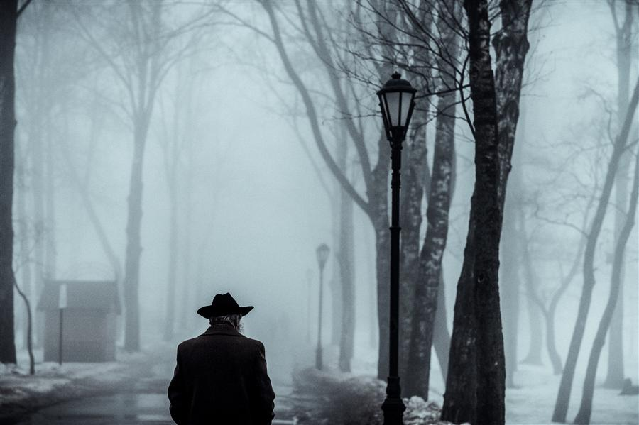 Original art for sale at UGallery.com | Man in the Fog by KONSTANTIN CHALABOV | $145 |  | ' h x ' w | http://www.ugallery.com/photography-man-in-the-fog