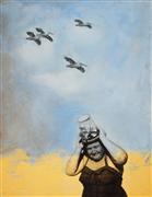 People art,Seascape art,Street Art art,Representational art,Vintage art,mixed media artwork,Keeper of Our Shores