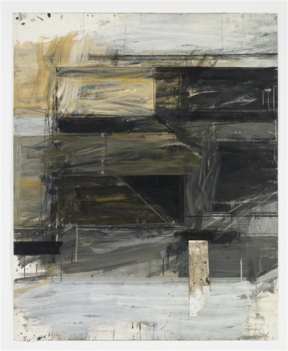 Original art for sale at UGallery.com | In It by PETER HOSS | $1,575 | Mixed media artwork | 44.5' h x 36' w | http://www.ugallery.com/mixed-media-artwork-in-it