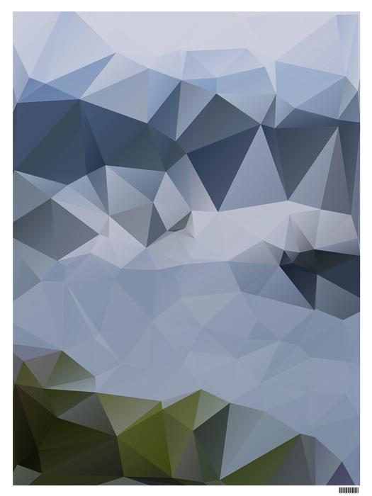Discover Original Art by Tim Scurry | Blue Crag digital printmaking | Art for Sale Online at UGallery
