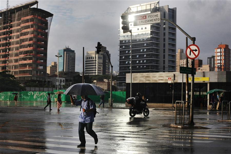 Original art for sale at UGallery.com | Rainy Day in Sao Paulo by MARIA PLOTNIKOVA | $145 |  | ' h x ' w | http://www.ugallery.com/photography-rainy-day-in-sao-paulo