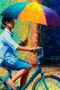 Discover Original Art by Iris Scott | Sunbrella oil painting | Art for Sale Online at UGallery