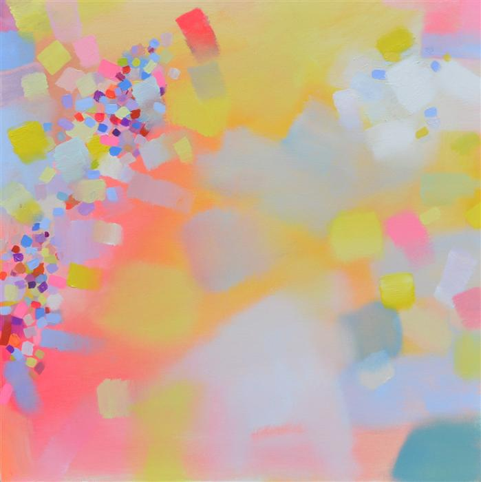 Original art for sale at UGallery.com | Ethereal Abstraction Series 7 by PATRICK O'BOYLE | $1,200 | Acrylic painting | 30' h x 30' w | http://www.ugallery.com/acrylic-painting-ethereal-abstraction-series-7