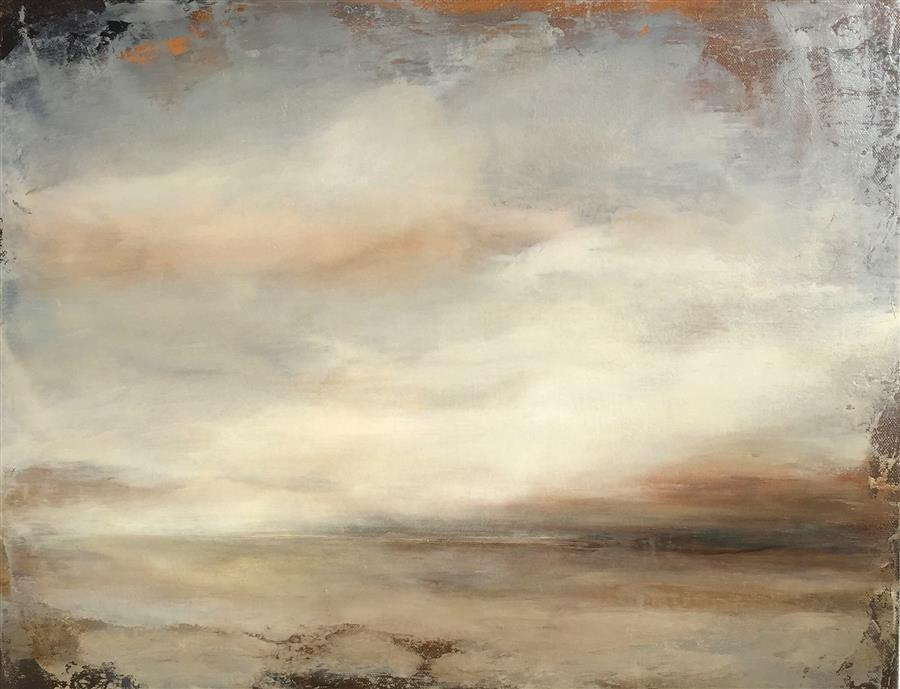 Original art for sale at UGallery.com | Cloud Illusions by FAITH TAYLOR | $800 | Oil painting | 16' h x 20' w | http://www.ugallery.com/oil-painting-cloud-illusions