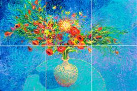 Discover Original Art by Iris Scott | Blue Vase oil painting | Art for Sale Online at UGallery