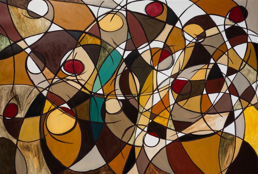 Original art for sale at UGallery.com | Third Movement by FRANCESCO D'ADAMO | $2,675 | Oil painting | 51' h x 75' w | http://www.ugallery.com/oil-painting-third-movement