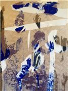 Abstract art,Expressionism art,Non-representational art,mixed media artwork,Mangata 28