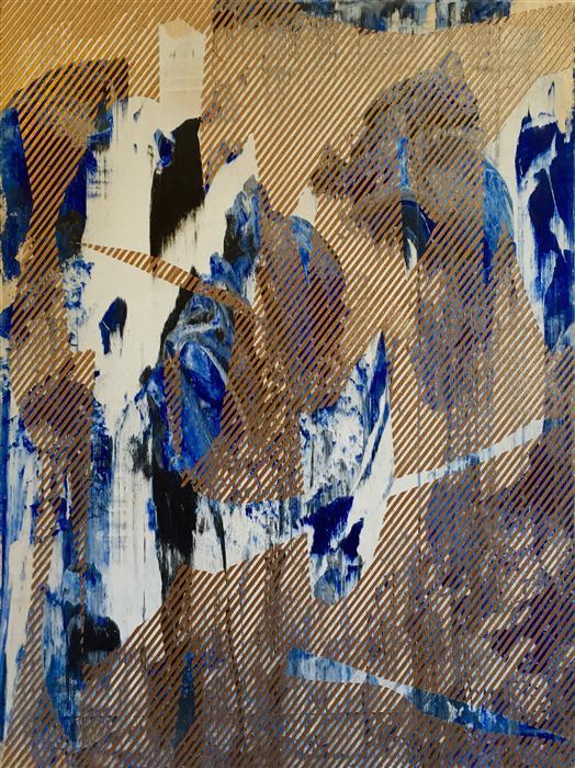Discover Original Art by Mélisa Taylor | Mangata 29 mixed media artwork | Art for Sale Online at UGallery