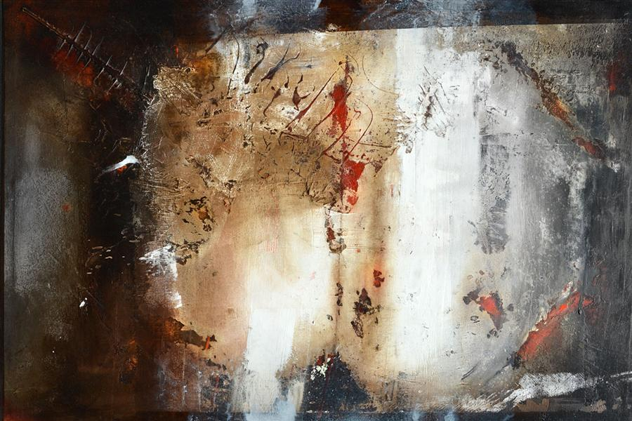 Original art for sale at UGallery.com | Nuovamente Luce by ADRIANO RIBEIRO | $1,325 | Mixed media artwork | 31' h x 47' w | http://www.ugallery.com/mixed-media-artwork-nuovamente-luce