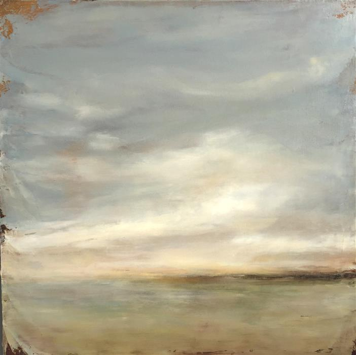 Original art for sale at UGallery.com | Release by FAITH TAYLOR | $850 | Oil painting | 20' h x 20' w | http://www.ugallery.com/oil-painting-release-41874