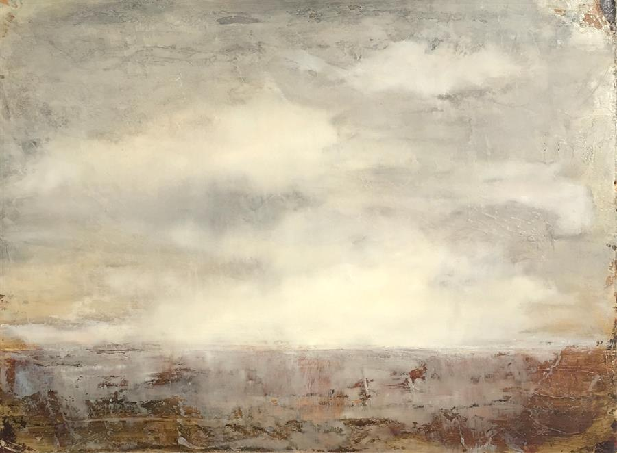 Original art for sale at UGallery.com | Storm by FAITH TAYLOR | $900 | Oil painting | 18' h x 24' w | http://www.ugallery.com/oil-painting-storm-40408